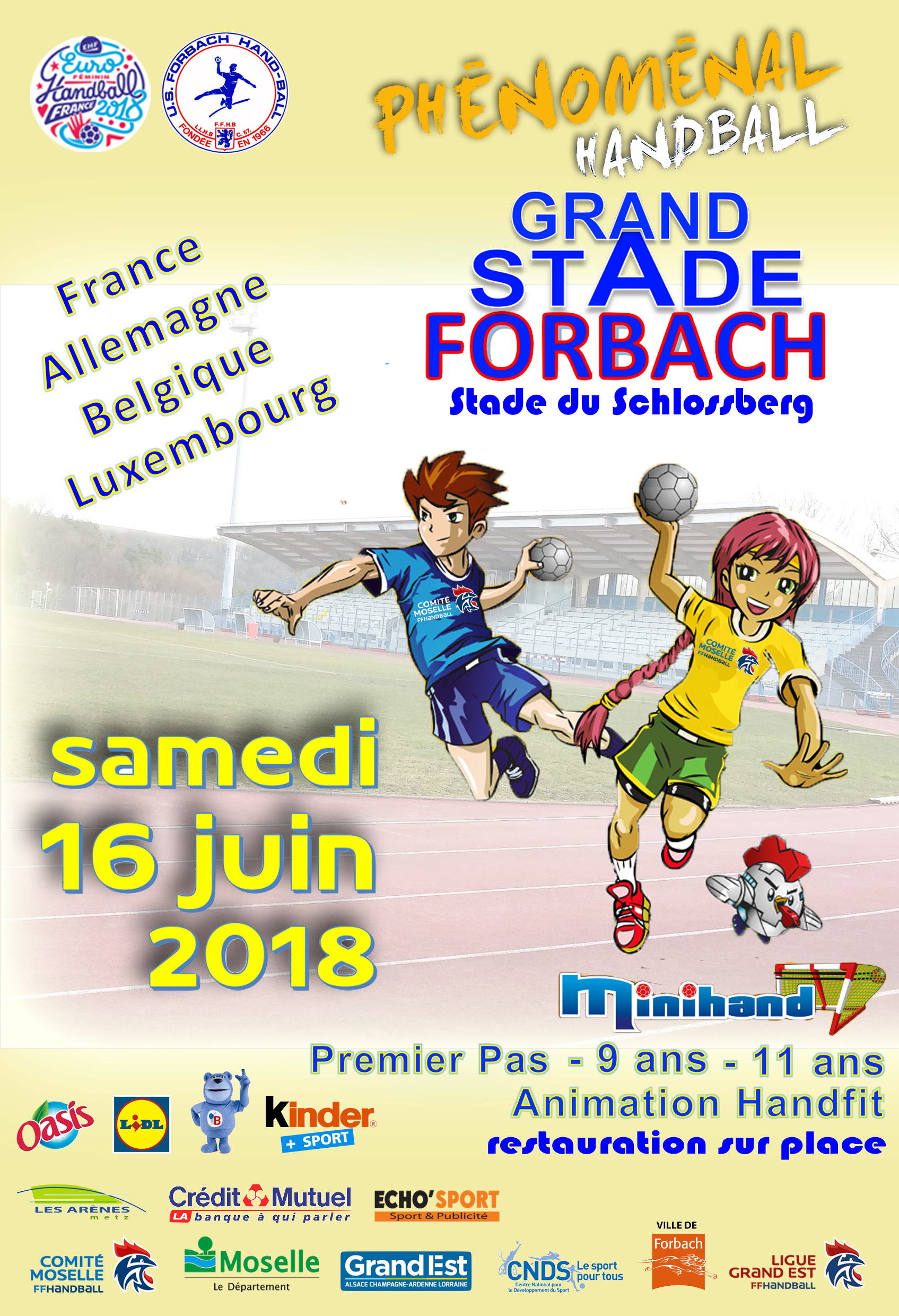 AFFICHE GRAND STADE A FORBACH 20158