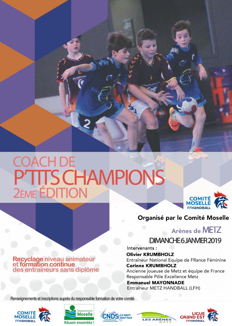 affiche coach ptits champions METZ